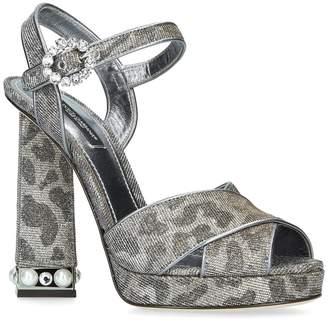 Dolce & Gabbana Embellished Bette Sandals 105