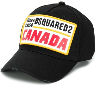 DSQUARED2 Canada patch baseball cap
