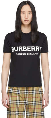 Burberry Black Logo T-Shirt
