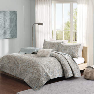 Three Posts Chasing 4 Piece Coverlet Set