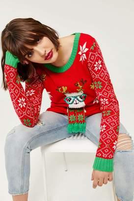 Ardene Ugly Llama X-Mas Sweater