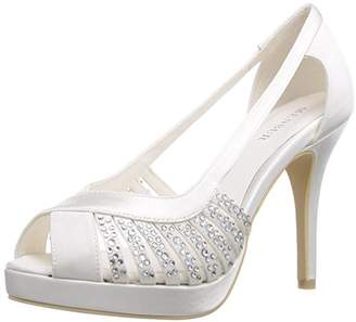 Menbur Wedding Women's Estrella Fashion Sandals Ivory Size: 5