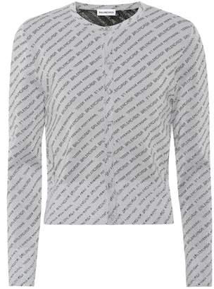 Balenciaga Jacquard cardigan