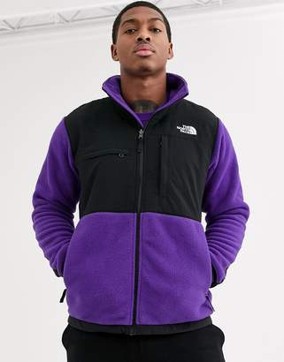 The North Face Denali jacket in purple