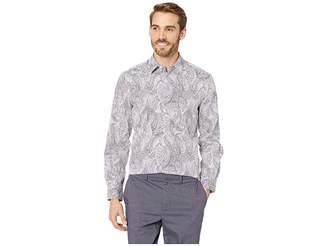 Perry Ellis Regular Fit Stretch Paisley Print Shirt