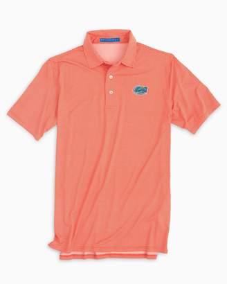 Southern Tide Florida Gators Plaid Polo Shirt