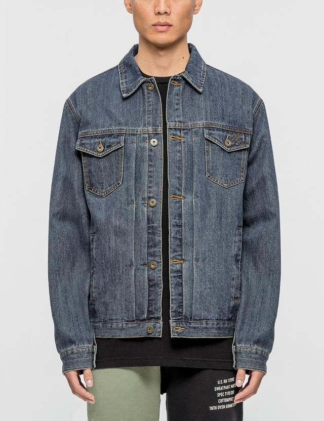 10.Deep 10.Deep Steel Toe Denim Jacket