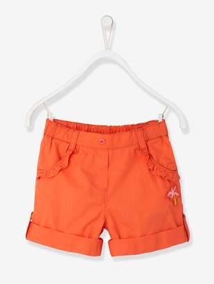 Vertbaudet Girls' Bermuda Shorts, Convertible into Shorts