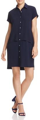 Calvin Klein Popover Shirt Dress $99.50 thestylecure.com