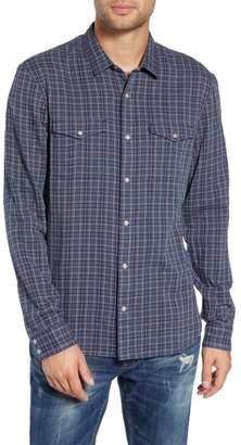 John Varvatos Regular Fit Double Pocket Sport Shirt