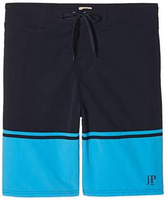 Trunks JP 1880 Men's Badeshort Navy/Aqua Shorts,L