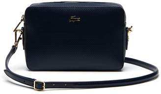 Lacoste Women's Chantaco Pique Leather Square Crossover Bag