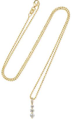 Anita Ko Twiggy Small 18-karat Gold Diamond Necklace