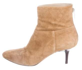 Jimmy Choo Suede Round-Toe Ankle Boots Suede Round-Toe Ankle Boots
