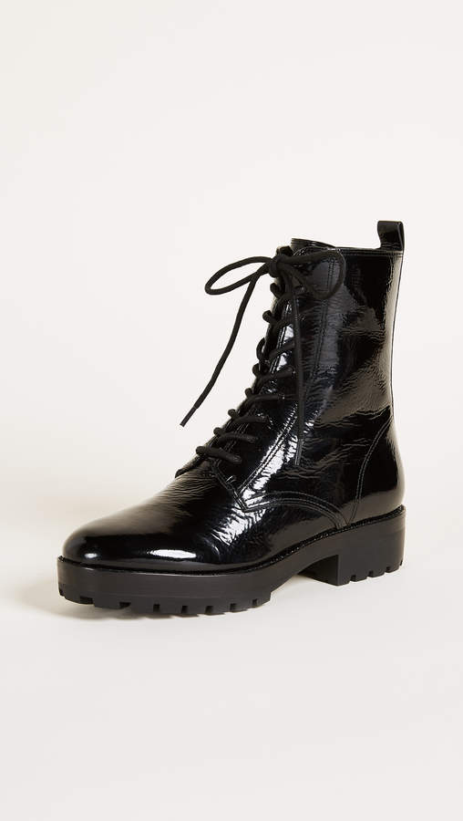 Michael Kors Collection Gita Combat Boots