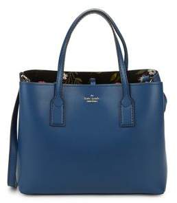 Kate Spade Small Hadley Road Dina Coated Leather Tote With Pouch