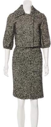 Kaufman Franco KAUFMANFRANCO Wool Skirt Suit