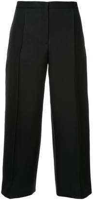Jil Sander cropped wide leg trousers
