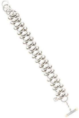 David Yurman 18K Sterling Silver Chain-Link Bracelet