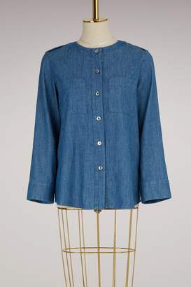 A.P.C. Cotton Lea blouse