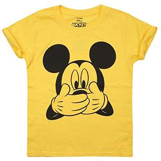Disney Mickey Mouse - Mouse Laughing - Girls T Shirt Daisy - XXL