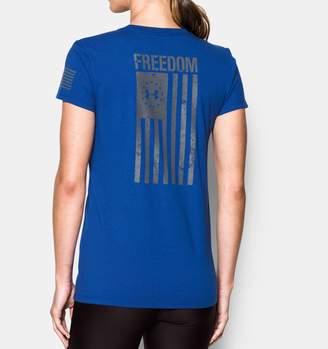 Under Armour Women's UA Freedom Flag 2.0 T-Shirt