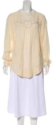 Etoile Isabel Marant Embroidered Long sleeve Tunic