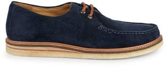 Sperry Gold Cup Captain's Crepe Suede Derby Shoes