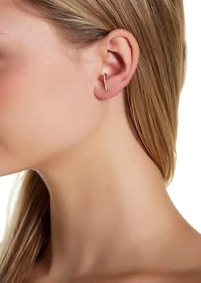 Sterling Forever 14K Gold Vermeil CZ Suspender Earrings