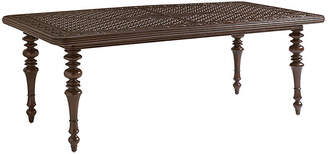"""Tommy Bahama Black Sands 84"""" Dining Table"""