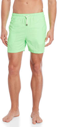 Solid & Striped Neon Green The Classic Swim Trunks