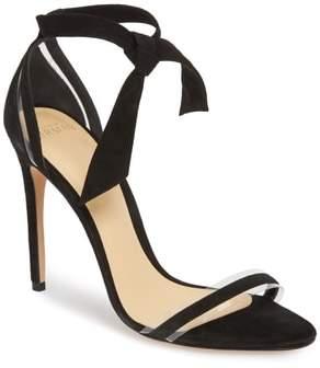 Alexandre Birman Clarita Clear Ankle Tie Sandal