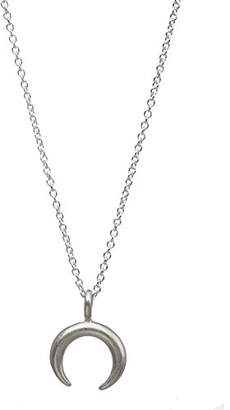 Dogeared Women Silver Necklace of Length 45.72cm MS1985-IN