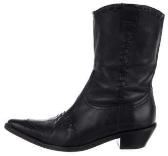 Stephane Kelian Leather Pointed-Toe Cowboy Boots