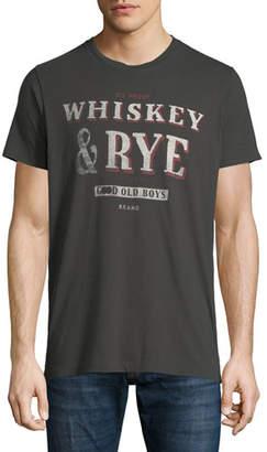 Sol Angeles Men's Whiskey & Rye Graphic T-Shirt