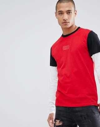 D-Struct Long Sleeve Double Layer T-Shirt