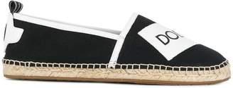 Dolce & Gabbana logo tape espadrilles