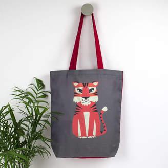 Laura Danby Tiger Animal Tote Bag