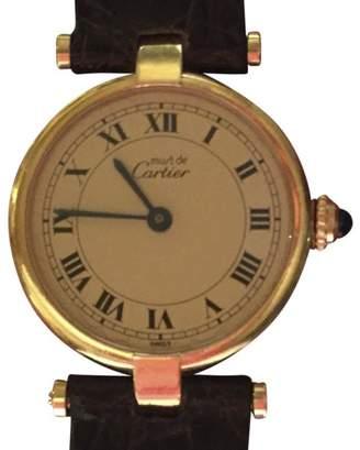Must De Womens 24mm Vermeil Watch