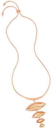 Kendra Scott Morris Stacked Pendant Necklace $150 thestylecure.com