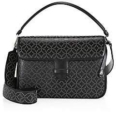 Alaà ̄a Women's Medium Bettina Lasercut Leather Crossbody Bag