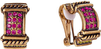 Heidi Daus Gold-Tone Timeless Beauty Earrings