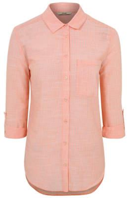 George Pink Striped Shirt