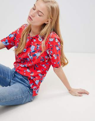 B.young Floral Boxy Blouse