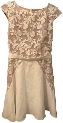 Rime Arodaky White Lace Dress for Women