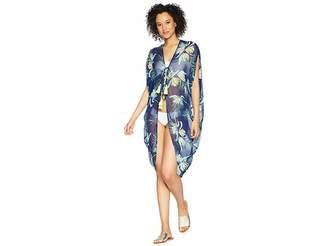 Echo Paradise Palms Kimono Women's Clothing