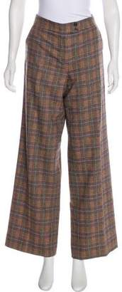 Etro Mid-Rise Wool Pants