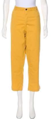 Pendleton High-Rise Straight-Leg Pants