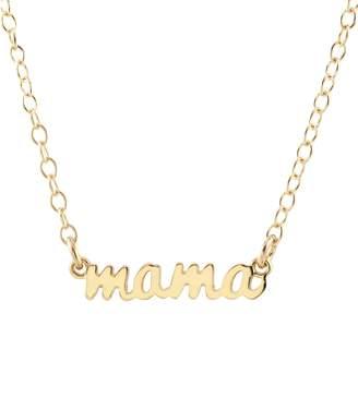 Kris Nations Mama Script Necklace