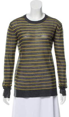 Alexander Wang Striped Knit Top